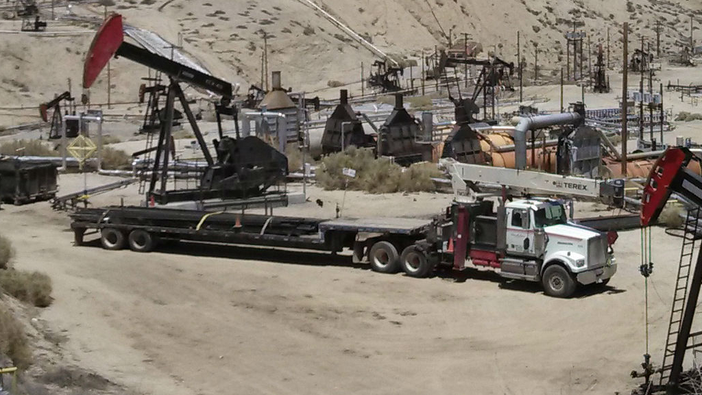 Weststar Crane Truck
